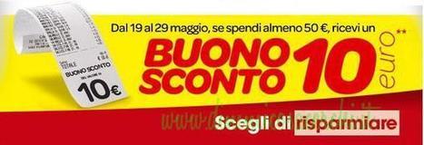 Buono sconto Carrefour da 10 euro | Coupon, Buoni Sconto, spesa e benzina. Promozione varie | Scoop.it