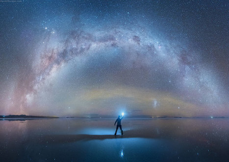 Russian Photographer Captures Breathtaking Photos Of Milky Way Mirrored On Salt Flats In Bolivia | Jaclen 's photographie | Scoop.it