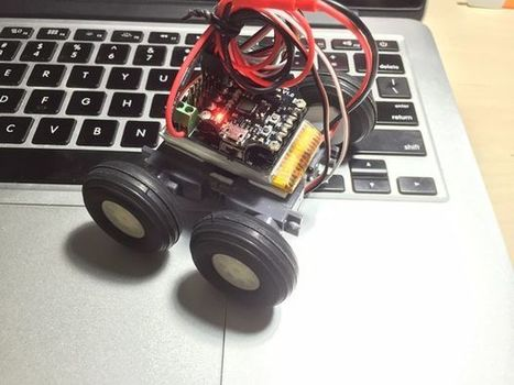 Arduino based 4WD Bluetooth Microbot | Arduino, Netduino, Rasperry Pi! | Scoop.it