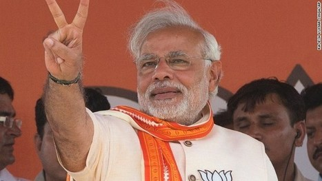 Hindu nationalist Narendra Modi claims victory as India's next prime minister | Jaylen Purnell Current Events | Scoop.it