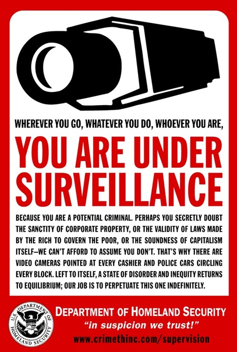 The total surveillance society approaches | Technoculture | Scoop.it