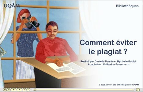Module d'autoformation gratuit sur le plagiat et le droit de citation | networked media | Scoop.it