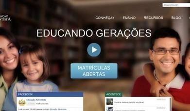 Rede de Educação Adventista lança site para auxiliar comunidade | Inovação Educacional | Scoop.it