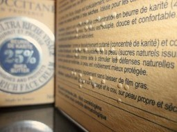 L'Occitane goes braill | my clients have my favor | Scoop.it
