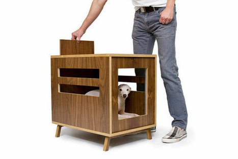 Dog Furniture Slide Table - CAROCU | Animals and Other Stories | Scoop.it