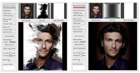 Isis Photo Effects pour créer des effets sur une photo à partir de masques | Chroniques libelluliennes | Scoop.it