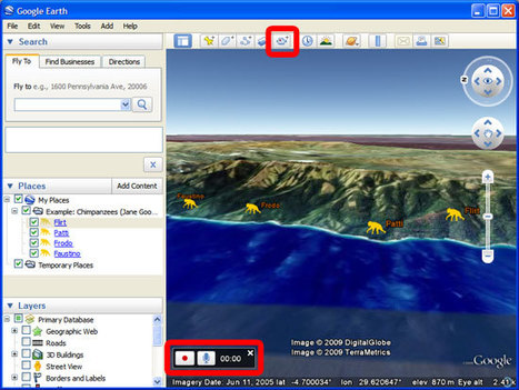 Creating a Narrated Tour in Google Earth | The Best Of Google | Scoop.it