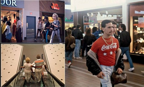 Photographer captures images of malls across America in the 1980s | Art | Scoop.it
