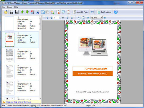PDF Page Manager Software - Rotate, resize and reverse PDF pages[A-PDF.com] | PDF Page Manager Software - Rotate, resize and reverse PDF pages | Scoop.it