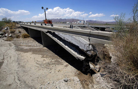 Erosion Found In Other California Bridges After Highway Collapsed From Flash Flood | Conformable Contacts | Scoop.it