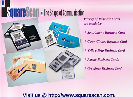 Checkout the Square Scan Business Products | QR Code Business Card | Scoop.it