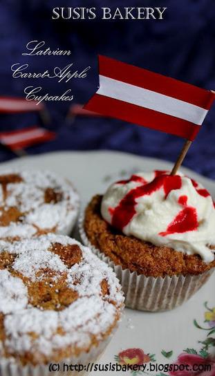 Susi's Bakery: Latvian Carrot-Apple Cupcakes | Latvian cuisine | Scoop.it