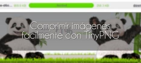 Comprimir imágenes fácilmente con TinyPNG | Tecnología Aplicada a la Educación. Curiosidades. | Scoop.it