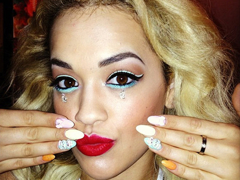 Who Nailed It This Year? The Best Nail Art Of 2013! - VH1 | gossip | Scoop.it