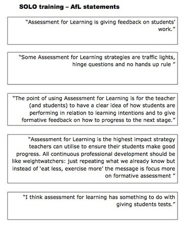 SOLO taxonomy - David Didau: The Learning Spy | Teaching and Learning at St Edmund Campion | Scoop.it