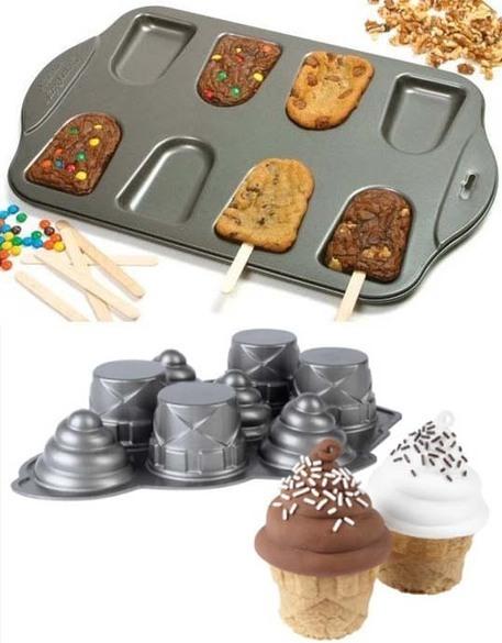 Cake-Sicle Pan & Ice Cream Cone Cupcake Pan | Recetas de Comida | Scoop.it