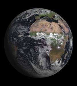 Satellite's first photo of Earth is an impressive one - NBCNews.com   APS Instructional Technology ~ Science Content   Scoop.it