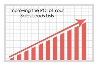 How To Improve B2B ROI Through Sales Leads? | Mailing List - Mailing List Database - Mailing List Provider | Scoop.it