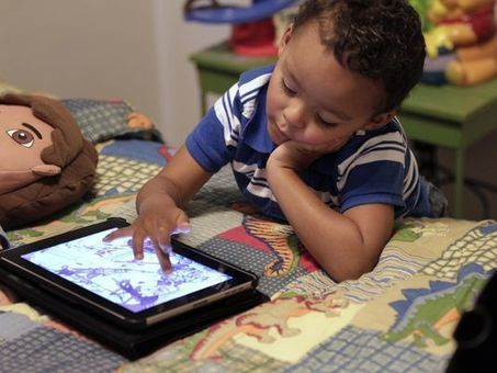 Techie tykes: Kids going mobile at much earlier age | Kickin' Kickers | Scoop.it