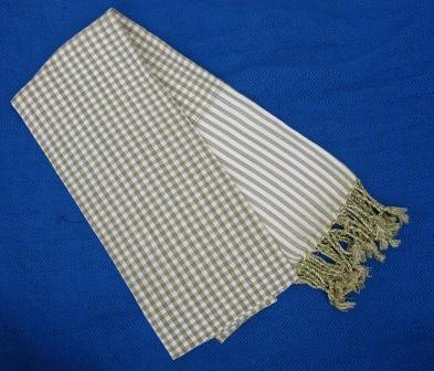 Fair trade Cambodia. Natural dye traditional cotton striped scarf, ethically handwoven by local weavers.   Silk Scarfs, Ethically handmade   Scoop.it
