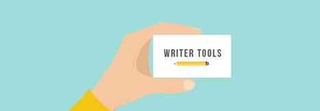 10 Free Online Tools That Make a Writer's Life Easier | Health & Wellness | Scoop.it