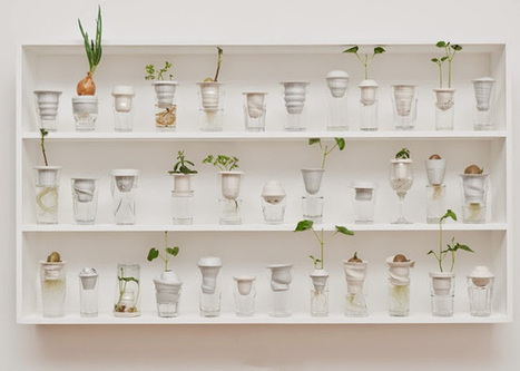 Vasos combinam cerâmica com copos abandonados nas ruas de Londres | Design | Scoop.it