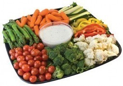 Fresh Vegetable Tray| Accompaniments| Party Platter Los Angeles | Party Platters | Scoop.it