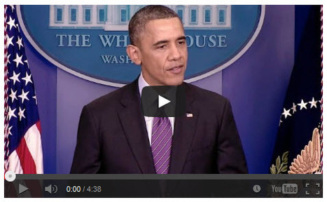 """""""President Obama Delivers a Statement on the Passing of Nelson Mandela"""" (VIDEO) 