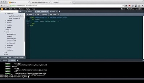 Action Aims to Be the Heroku of Development Environments ... | Realtime Web Dev | Scoop.it