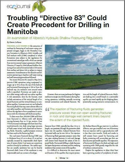 """Alberta's Troubling """"Directive 83"""" Could Create Precedent for ...   Surface Solutions Inc.   Scoop.it"""