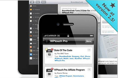 Lancer son blog WordPress sur mobile grâce au plugin WPTouch | Boutique droits de label privé | Scoop.it