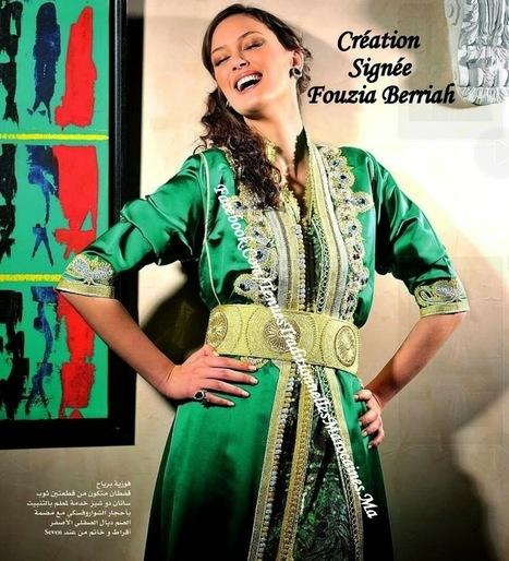 Caftan 2014 - Elegance du Caftan Marocain Haute Couture ~ Caftan Marocain Boutique Takchita 2014 : Vente Location Caftan au Maroc | Caftan 2014 | Scoop.it