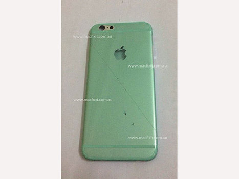 La coque de l'iPhone 6 en photo, avec une magnifique protection en plastique | Apple Addict - Pro Mac | Scoop.it