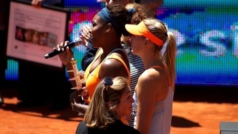 Serena Williams, Maria Sharapova and Caroline Wozniacki benefit from SAP on ... - ITProPortal | SAP Big Data Media | Scoop.it
