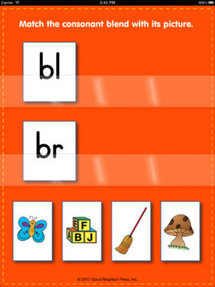 App Shopper: Consonant Blends and Digraphs (Education) | Using iPad's in the Classroom | Scoop.it