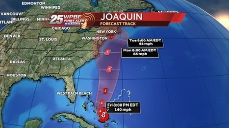 Joaquin strengthens, becoming an 'extremely dangerous' Category 4 storm | LibertyE Global Renaissance | Scoop.it