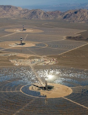 Mojave Mirrors: World's Largest Solar Energy Ready to Shine | Geography | Scoop.it
