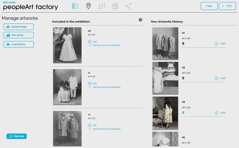 PeopleArt Factory: exposiciones en el entorno digital -   Comisariado   Scoop.it