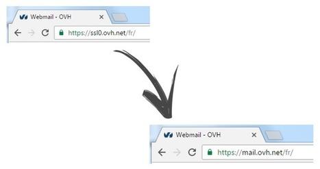 L'adresse du webmail de OVH vient de changer - Actualités - evolutiveWeb.com | Actus de l'agence, infos et conseils en e-communication et entrepreunariat | Scoop.it