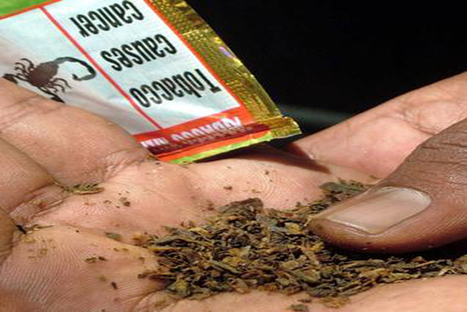 No Indian study confirms tobacco use causes cancer: Parliamentary panel   Public Health News   Scoop.it