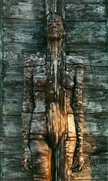 Wood Woman Wall Sculpture | Natural Sculptures | Scoop.it