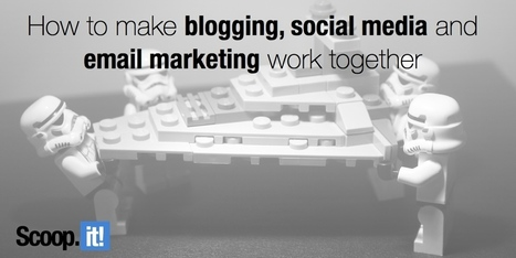How to make blogging, social media and email marketing work together | Social Media & Content Marketing | Scoop.it