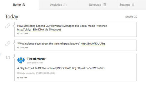Buffer is one of the best Social Media Management tool   Social Media   Scoop.it