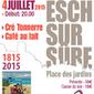 Café au Lait & Cré Tonnerre in Concert In Place des Jardins Esch-Sur-Sure, der 04.07.2015 | Cré Tonnerre | Scoop.it