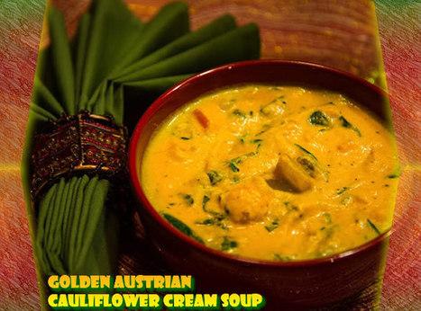 Golden Austrian Cauliflower Cream Soup | Digital-News on Scoop.it today | Scoop.it