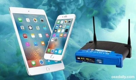How to Find a Router IP Address from iPhone or iPad - OSXDaily | iPads, MakerEd and More  in Education | Scoop.it