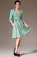 [EUR 109,99] eDressit 2014 New Turquoise Jacket 2 Pieces Short Bridesmaid Dress(26145404)   eDressit 2014 Nouveauté Magnifique Robe de Soirée en tendance   Scoop.it