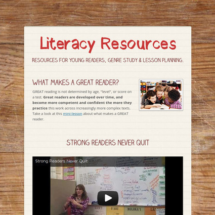 Literacy Resources | Digital Learning, Technology, Education | Scoop.it