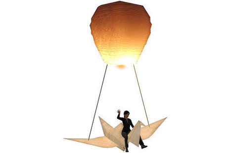Virtual Vagabond - Free Flyable Origami Crane Balloon | Latest Updates | Scoop.it