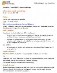 Créer un brief de rédaction de contenu | MySEOZone | Scoop.it